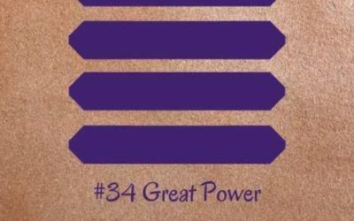 Guidance from the I Ching: 34 – Great Power (Redux)